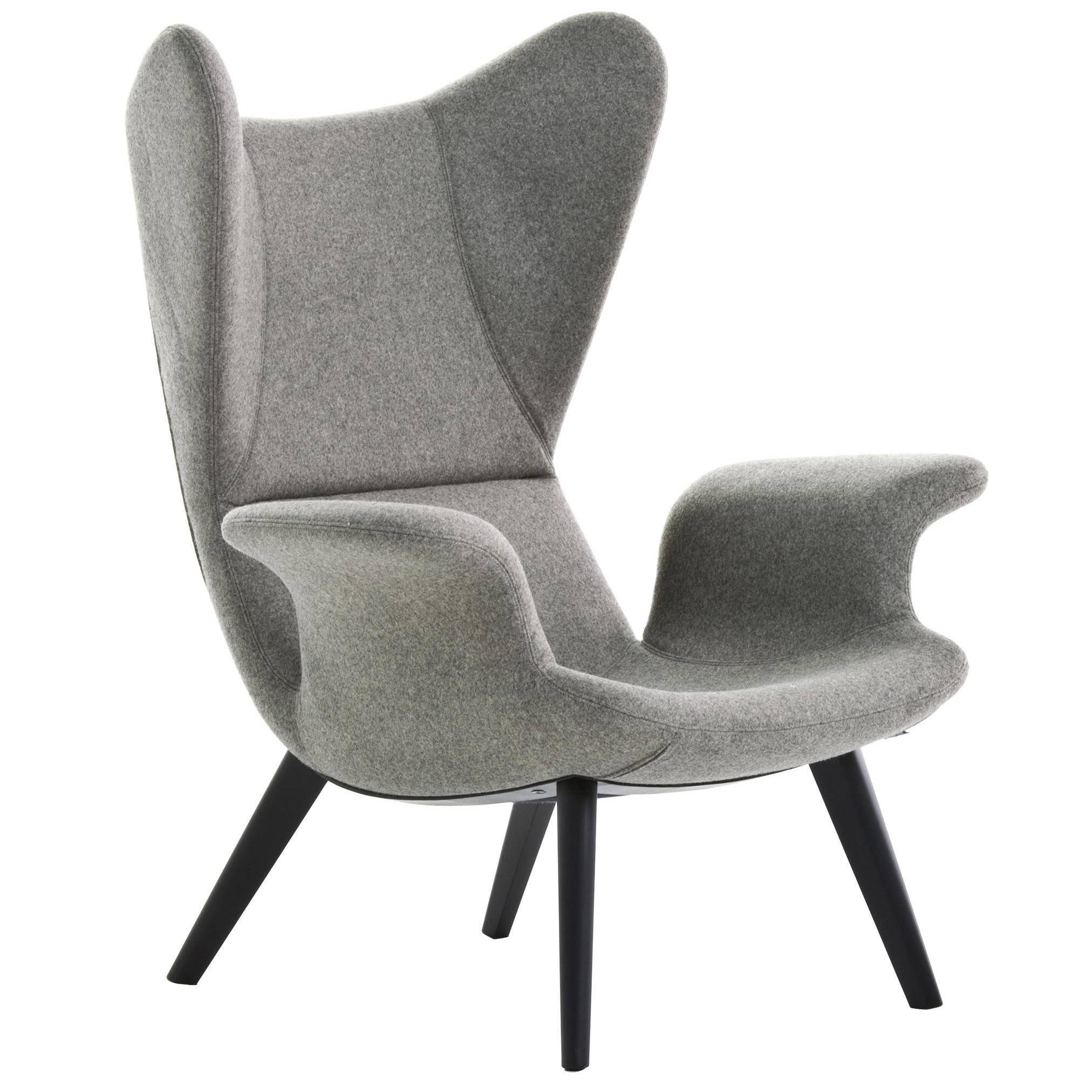 Longwave High Back Armchair By Diesel With Moroso For Sale
