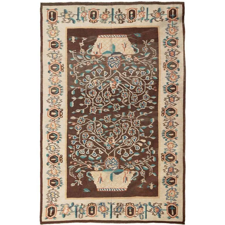 Caucasian Kilim Rug: Antique Bessarabian Kilim Rug For Sale At 1stdibs