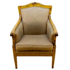 Nordic Birch Biedermeier Armchair