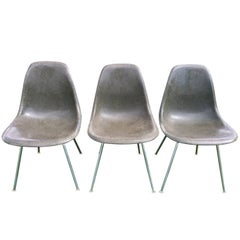 Charles Eames for Herman Miller Fiberglass Shell Side Chairs