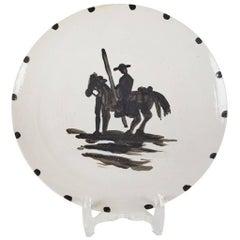 Mid-Century, Stamped, Picasso, Ceramic Plate