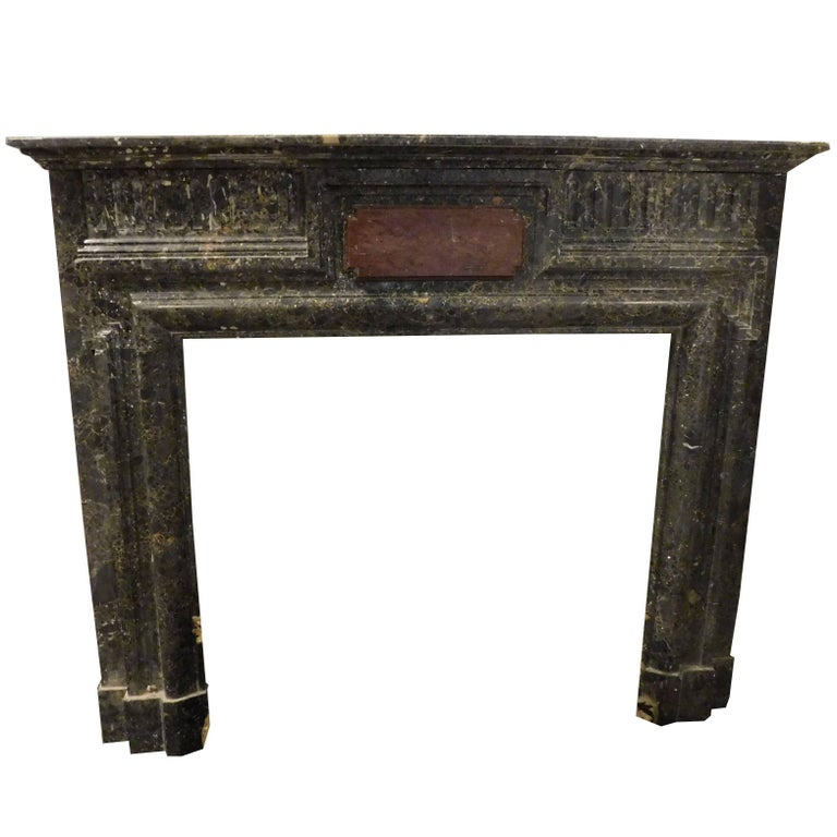 Antique marble fireplace mantel for sale at 1stdibs for Marble mantels for sale