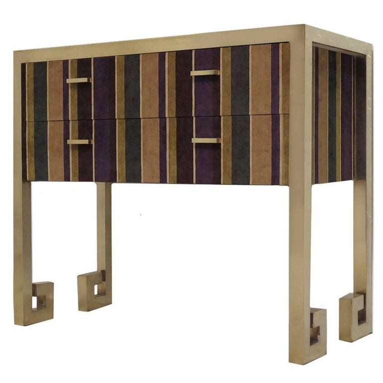 Chest of Drawers in Fabric  For Sale