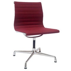 """Chair """"EA 101"""" by Manufacturer Vitra in Aluminium Finished in Fabric"""