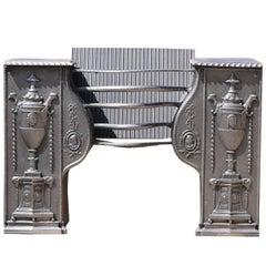 18th Century Antique Cast Iron Hob Grate