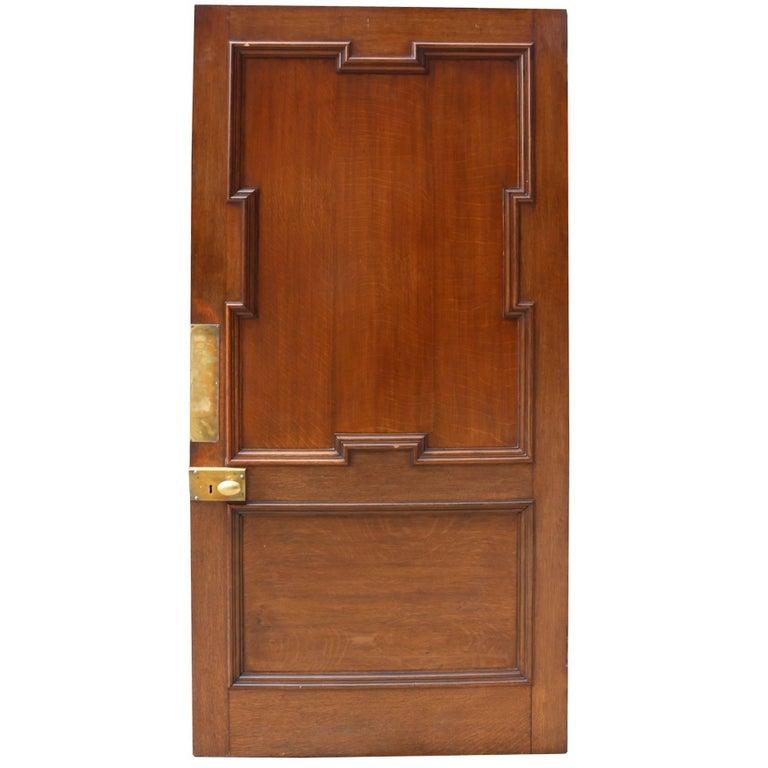 Good Quality 19th Century Oak Door