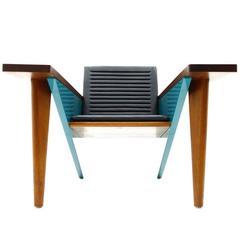 "Stefan Zwicky ""Lesestation"" Lounge Chair, Switzerland, 1987"