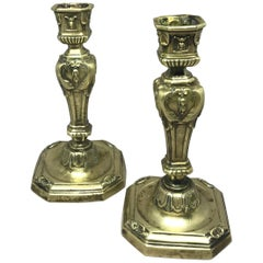 Pair of Louis XIV Candlesticks