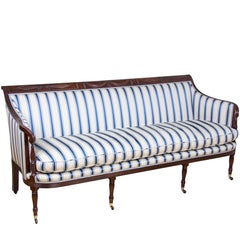 Classical / Federal / Sheraton Carved Mahogany Phyfe Sofa, New York, circa 1810