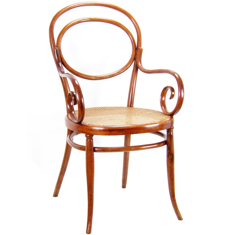viennese armchair thonet circa 1870 for sale at 1stdibs. Black Bedroom Furniture Sets. Home Design Ideas