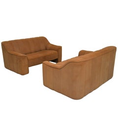Vintage De Sede DS 44 Two-Seat Sofas or Loveseats, 1970s