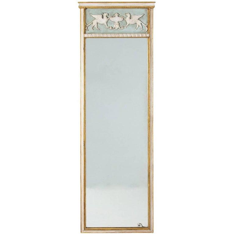 Gustavian Style Pier Mirror