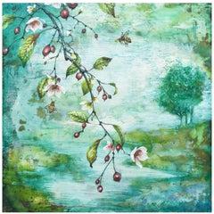 """""""Pollinator Pastoral"""" Painting"""
