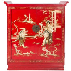 Mid-20th Century Chinoiserie Cabinet