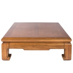 Large Square Chinese Coffee Table