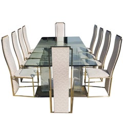 Maison Jansen Extra Large Dining Set from the 1970s