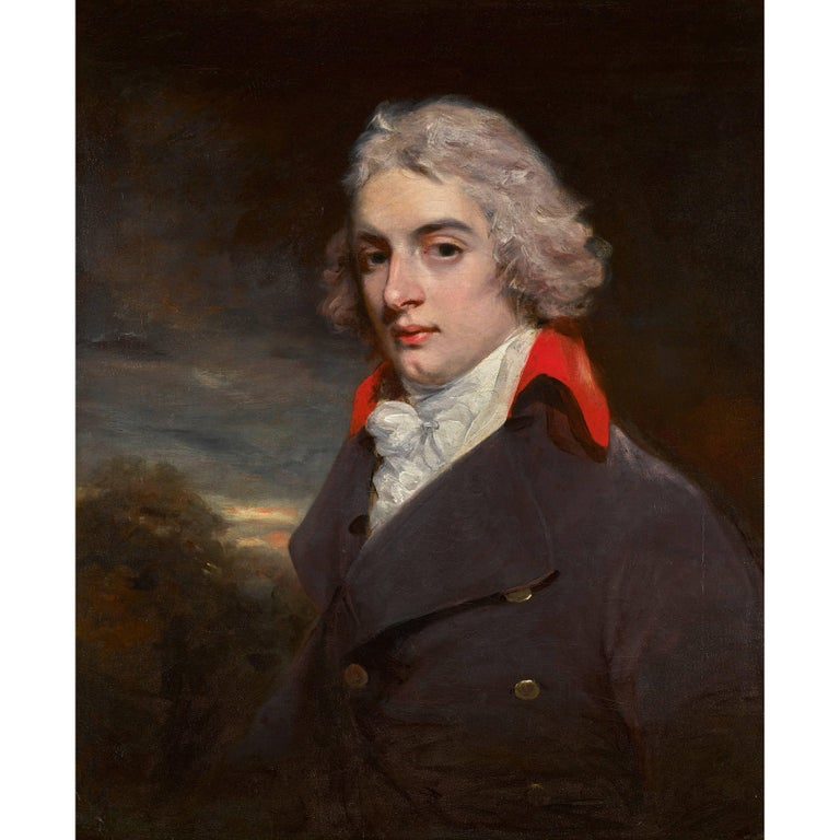 Portrait of Sir John Osborn by John Hoppner