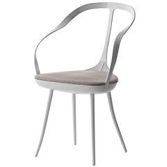 """""""Mollina"""" Shaped Steel Plate Chair Designed by Park Associati for Driade"""