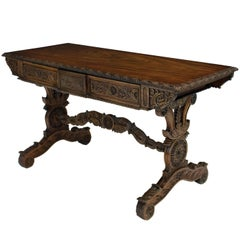 Fine Anglo Indian Rosewood Sofa Table