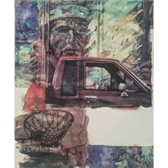 "Robert Rauschenberg ""Angel Food"" Screen-print on Paper, circa 2000"