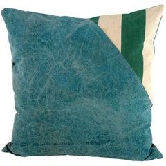 Vintage Textile Pillow