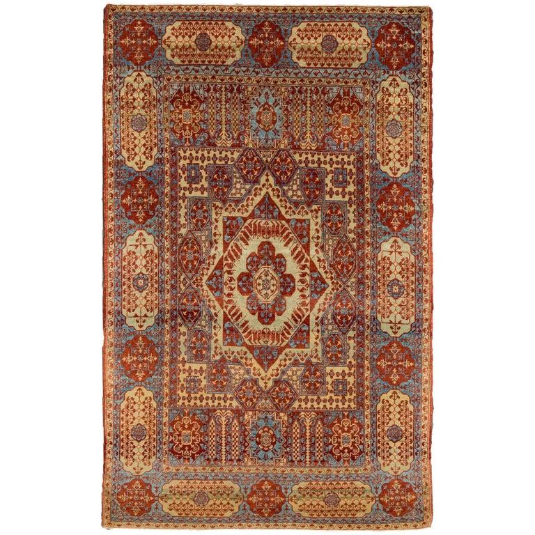Modern Mamluk Indian Rug For Sale At 1stdibs