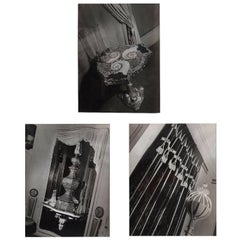 Three 1938 Francois Kollar Photographs of the Home of Serge Roche
