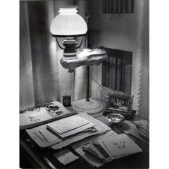 1938 Francois Kollar Photograph of the Desk of Countess Jean de Polignac