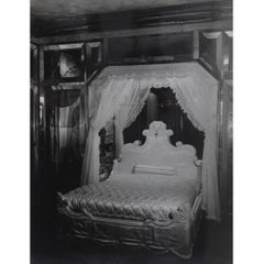 1938 Francois Kollar Photograph of the Bedroom of Daisy Fellowes