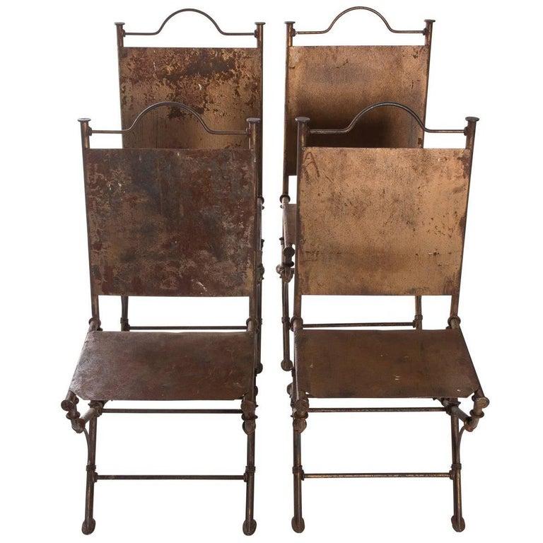 Faux Bamboo Garden Chairs