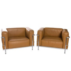 Corbusian Style Lounge Chairs