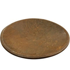 Large Carved Wooden Bowl, Indonesia, Contemporary