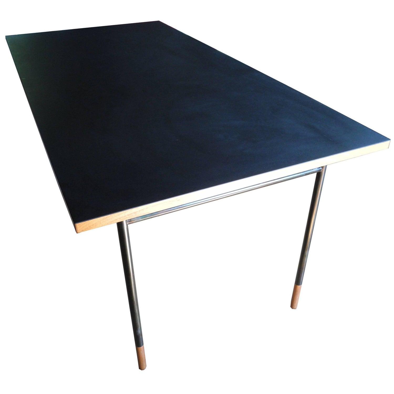"""Finn Juhl """"Nyhavn Table"""" Desk by e Design For Sale at 1stdibs"""