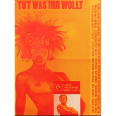 Your Own Thing 'Tut, was ihr wollt' German Poster Rock Musical Hal Hester, 1970