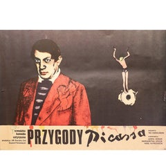 Adventures of Picasso, Original Polish Poster for the Swedish Film, 1979