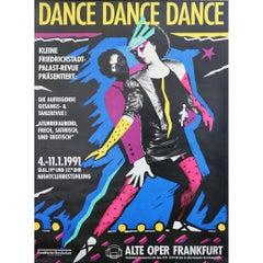 """Dance Dance Dance"" German Poster, 1991"