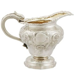 1831 Antique Sterling Silver Cream Jug