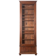 French 19th Century Walnut Bibliothèque
