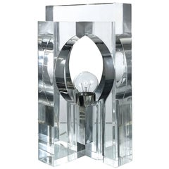 Transparent Plexiglass Lamp