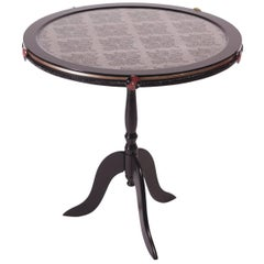 Golden Dragons Large Side Table