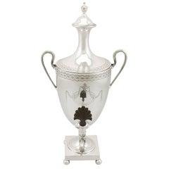 1781 Antique Sterling Silver Samovar