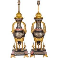 Islamic Influenced 19th Century Lamps