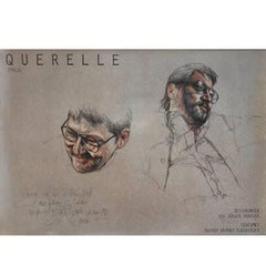 "Original Poster Art Print for R.W. Fassbinders ""Querelle"", Germany, 1982"