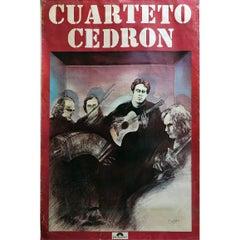 Cuarteto Cedron, Chances Poster 1977 Polydor, Argentina
