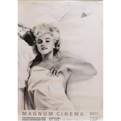Marilyn Monroe Magnum Cinema Exhibition Poster Germany, 1995