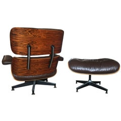 Superb Vintage Herman Miller Eames Lounge and Ottoman