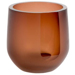 Handblown Glass Porto Ice Bucket, Andrew Hughes