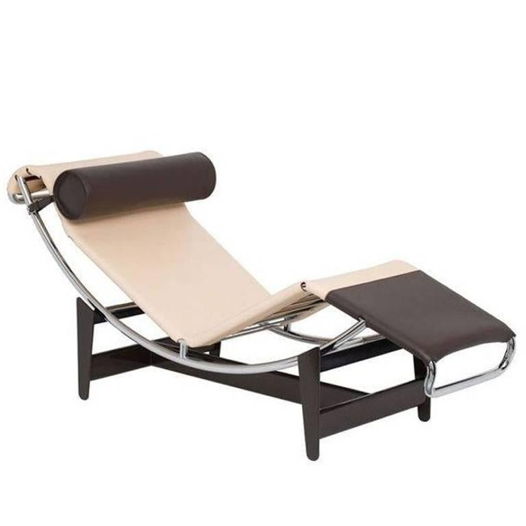 """Chaise Longue """"LC4 CP"""" by Manufacturer Cassina Louis Vuitton Special Edition"""