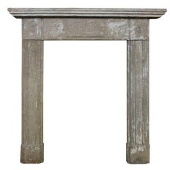 Georgian Fireplace Tools and Chimney Pots