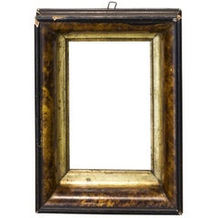 Vintage Petite Black Frame with Faux Tortoise Shell Detail